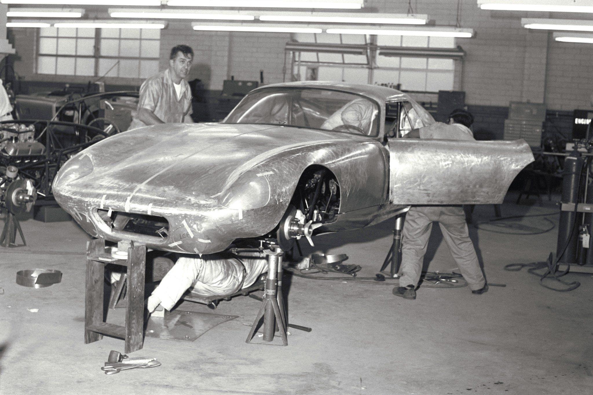 Daytona Under Construction at Shelby American