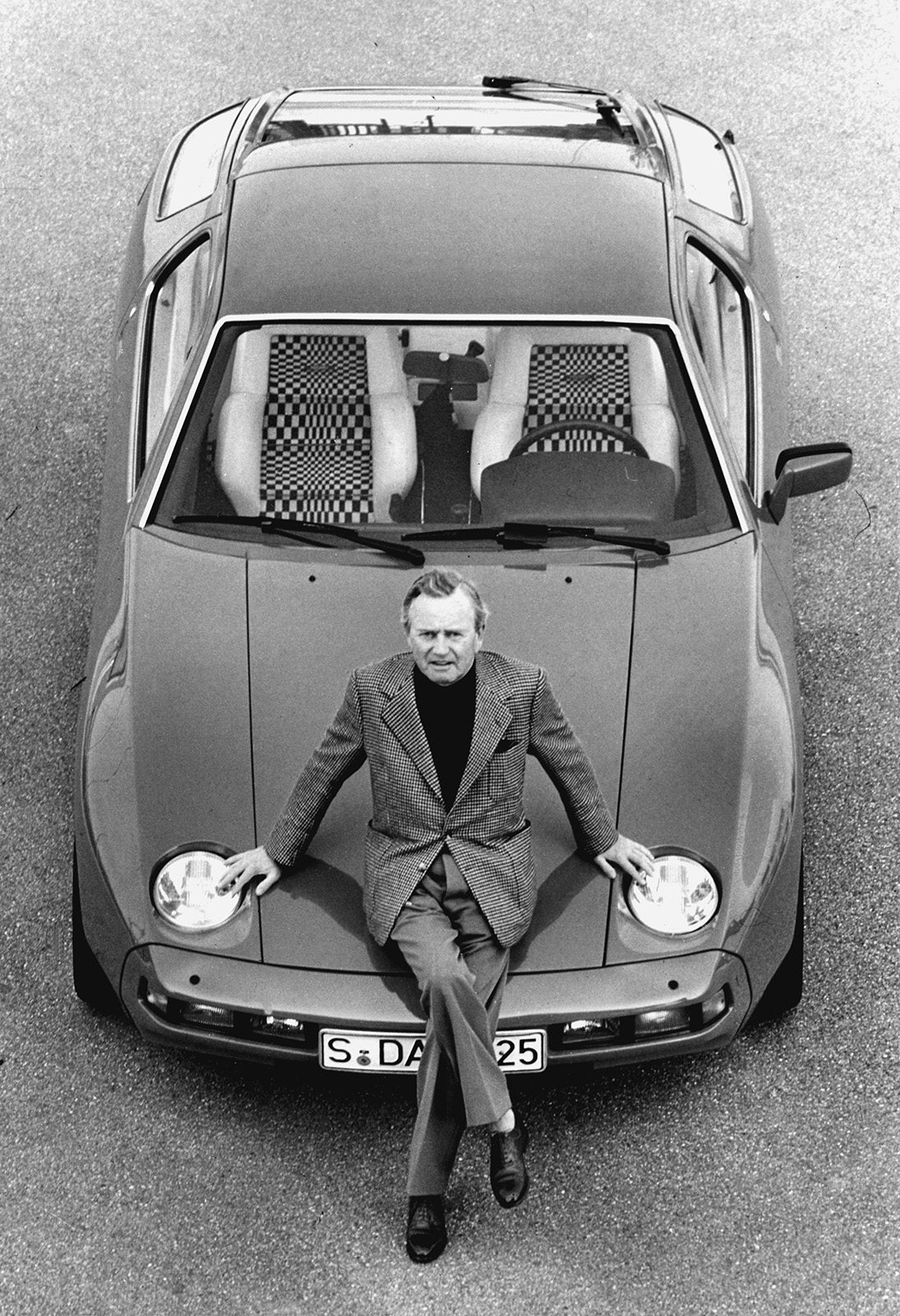 Dr. Ferdinand Ferry Porsche and 928