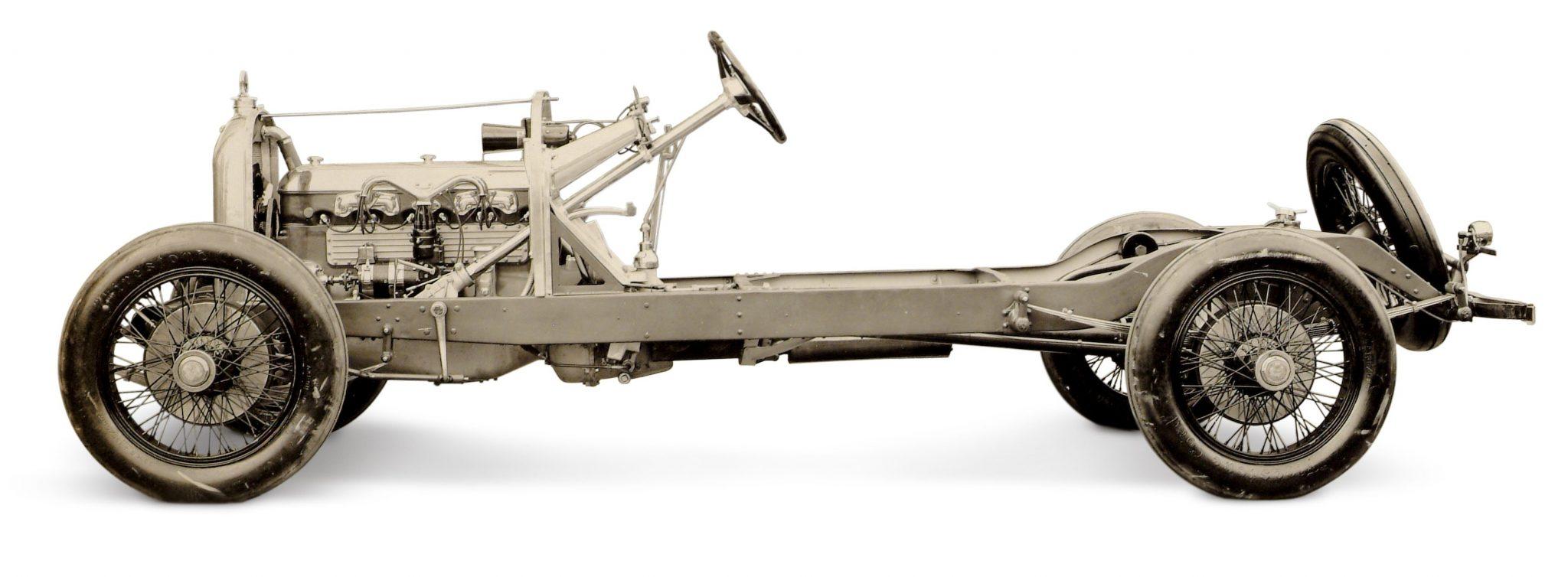 Duesenberg Model A chassis
