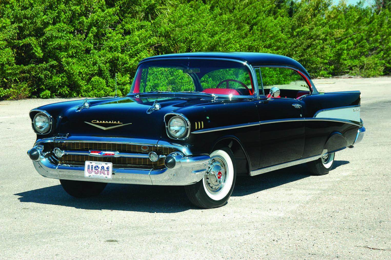1957 Chevy Right Corner shot