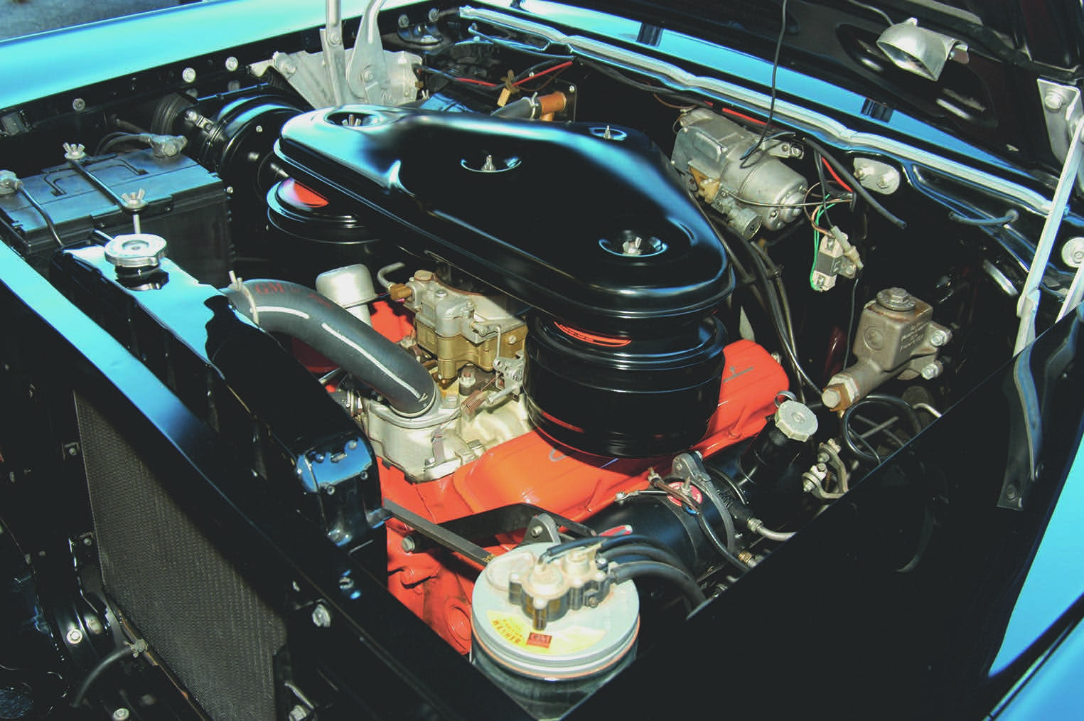 1957 Chevy engine