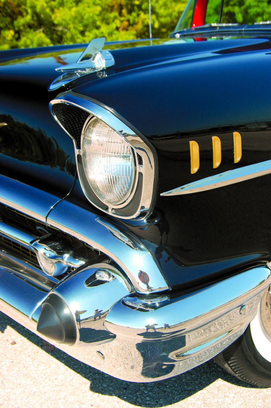 1957 Chevy headlamp
