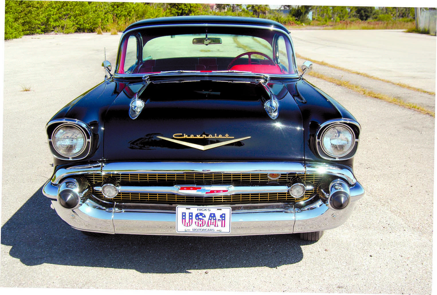 1957 Chevy Full Front