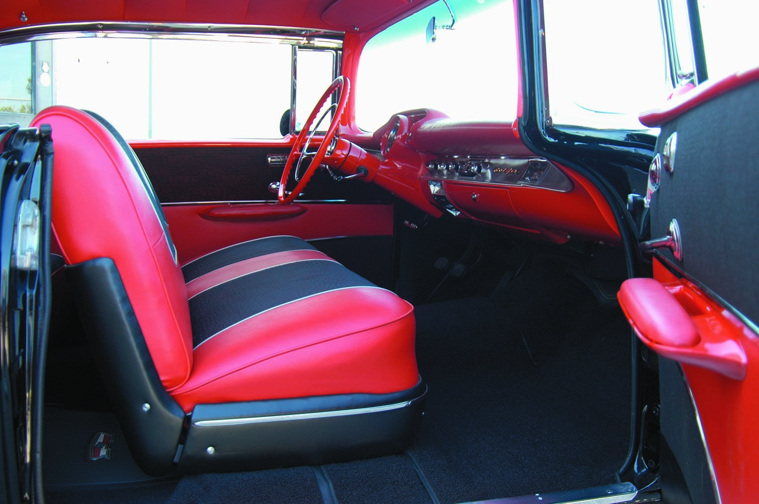 1957 Chevy interior