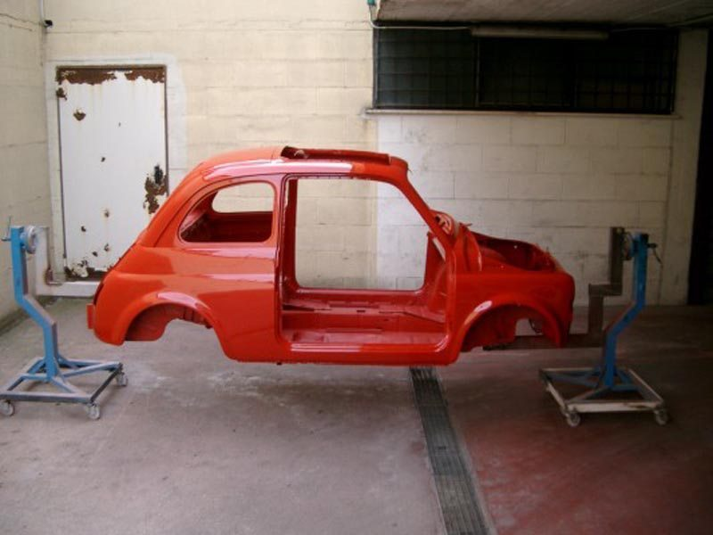 1972 Fiat 500L Stripped Body Shell