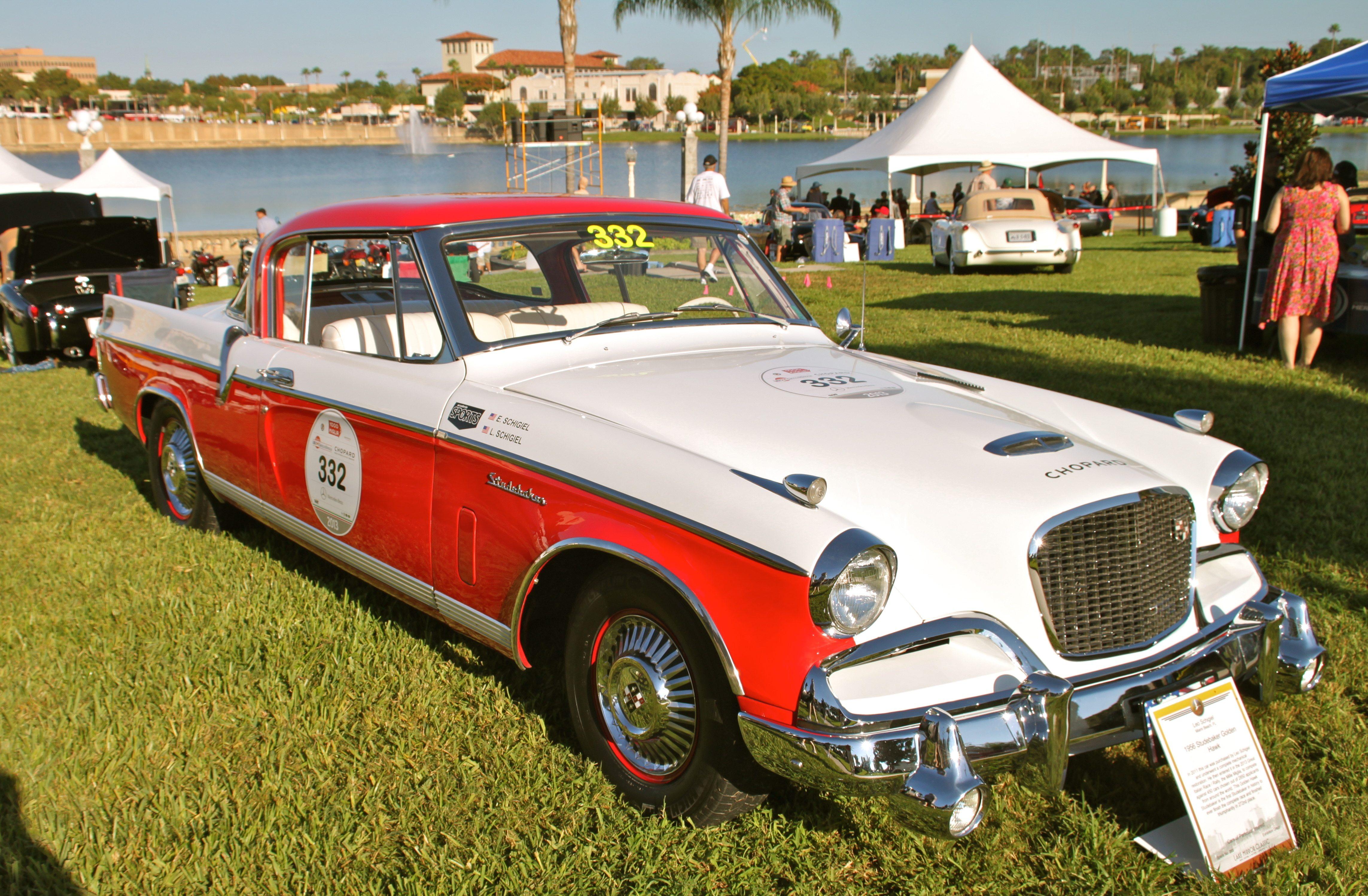 Lake Mirror Classic Auto Festival Heacock Classic - Classic car showcase