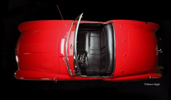1952 Nash-Healey LeMans Roadster top down view