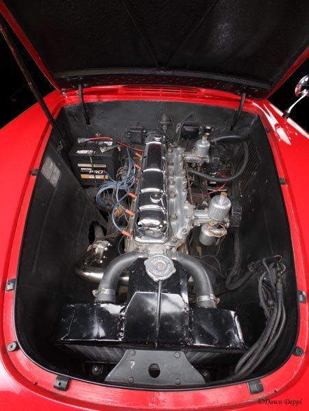 1952 Nash-Healey LeMans Roadster engine