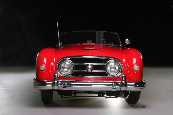 1952 Nash-Healey LeMans Roadster front view