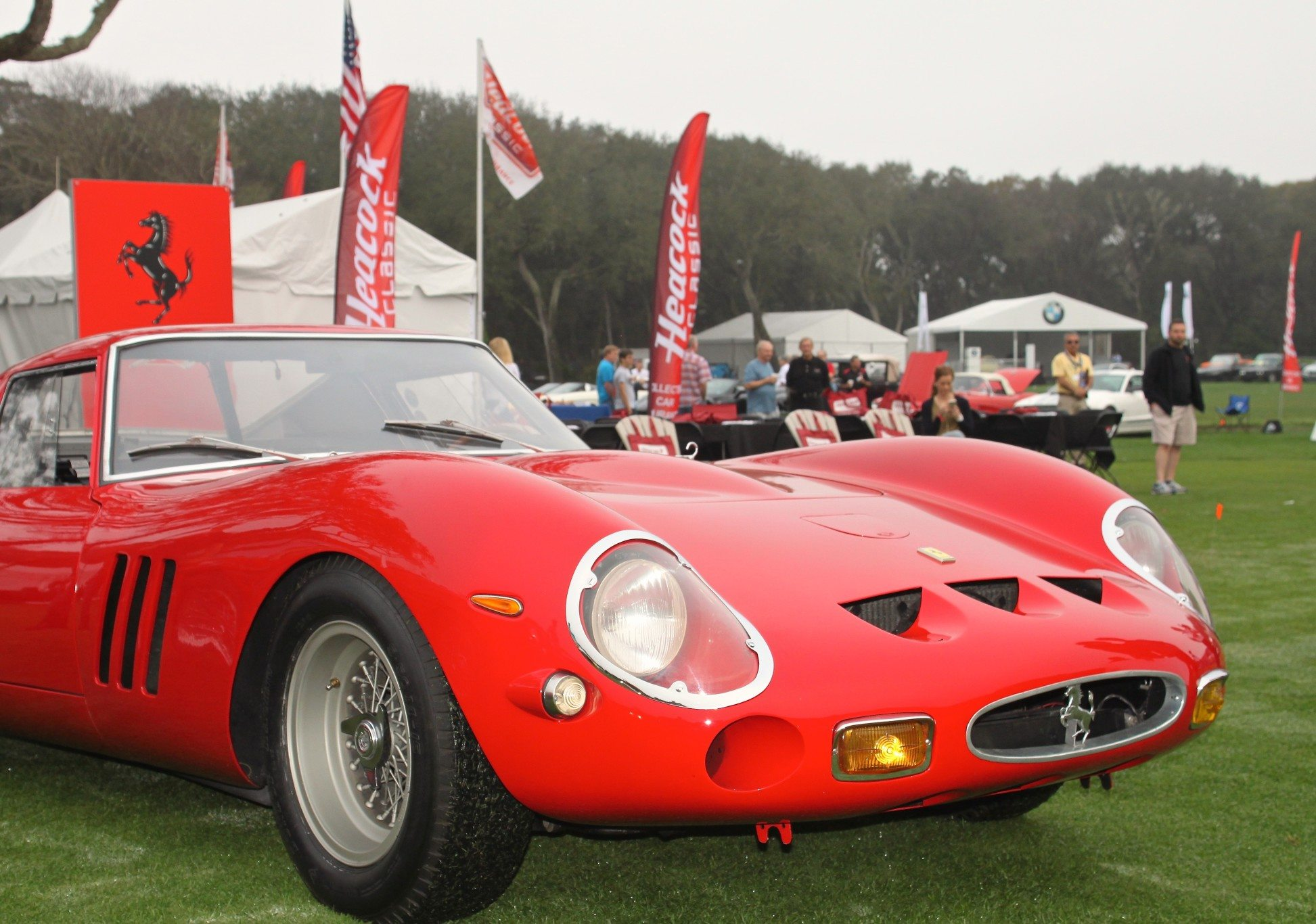 Ferrari Cars and Coffee at Amelia Island