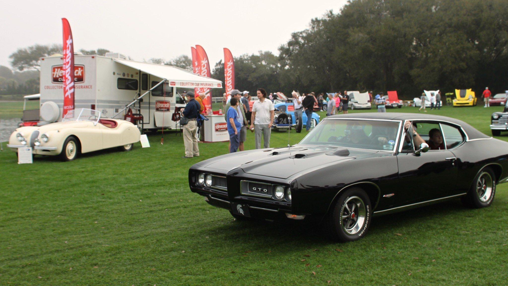 classic black pontiac GTO