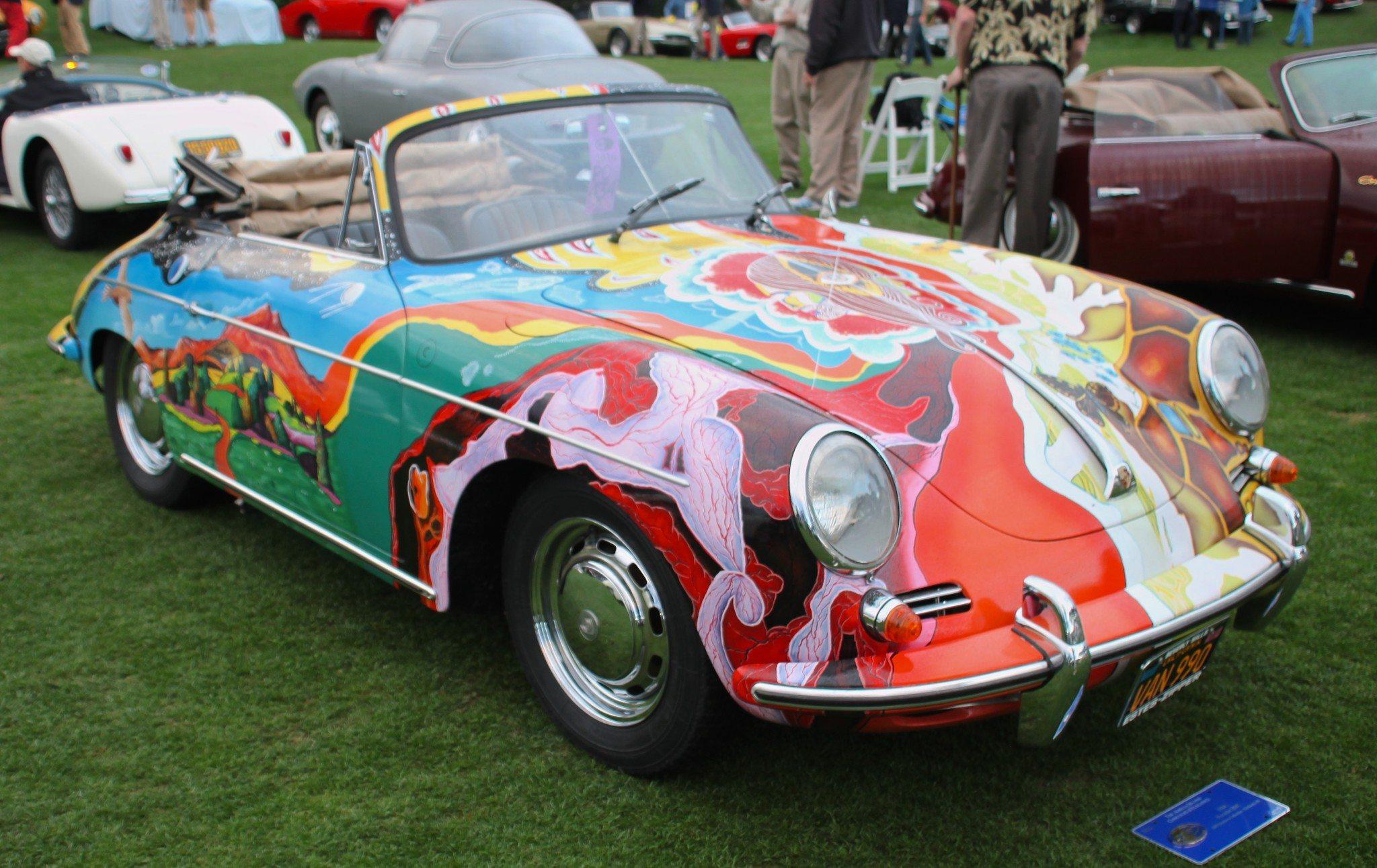 the very rare Janis Joplin 1964 Porsche 356 Cabriolet