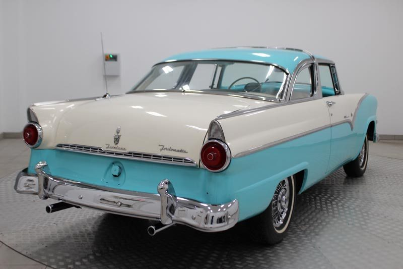 1955 Ford Fairlane Crown Victoria Rear View
