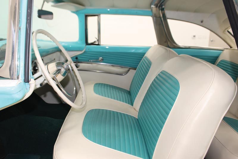 1955 Ford Fairlane Crown Victoria Front Interior