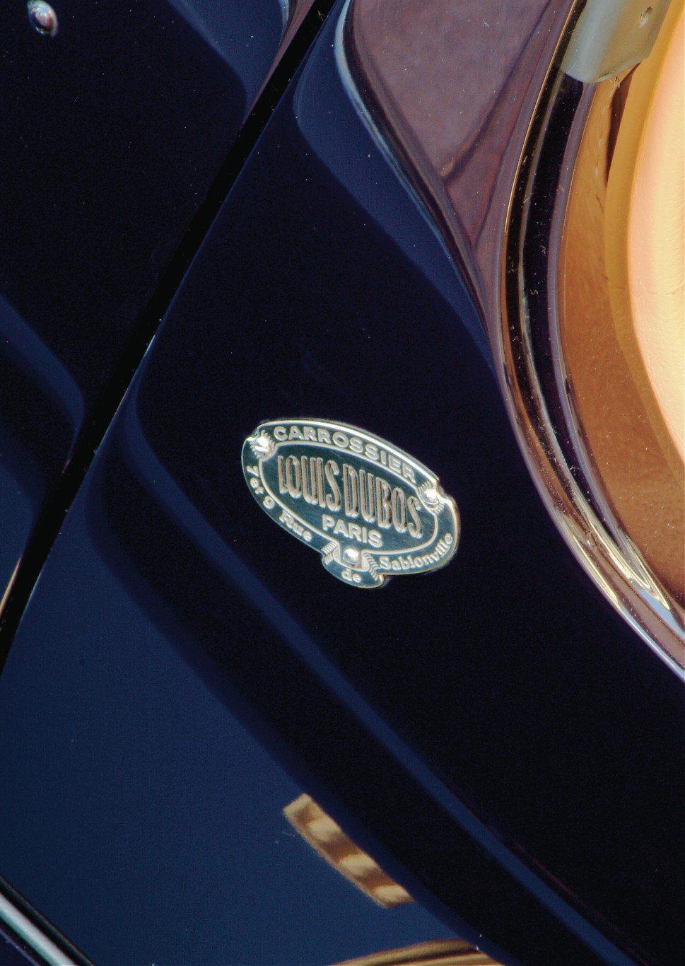 Louis Dubos Carrossier Bugatti Type 51