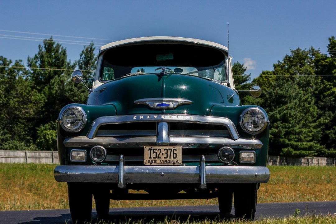 1955 Chevrolet 3100 5-Window Pickup Truck Front Grill