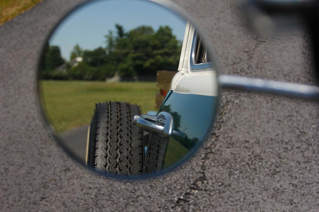1955 Chevrolet 3100 5-Window Pickup Truck Mirror Shot