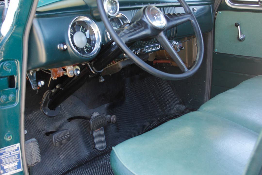 1955 Chevrolet 3100 5-Window Pickup Truck Interior