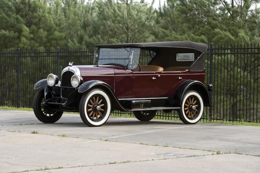 1926 Chrysler F58 5-Passenger Touring Convertible Roof Up