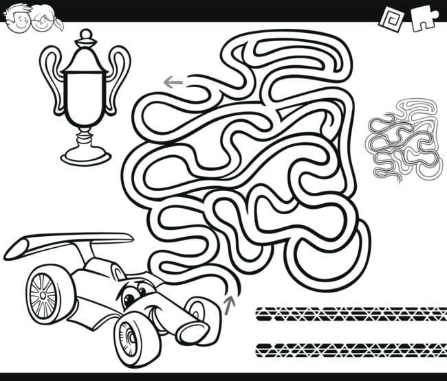maze-car-indoor-activity