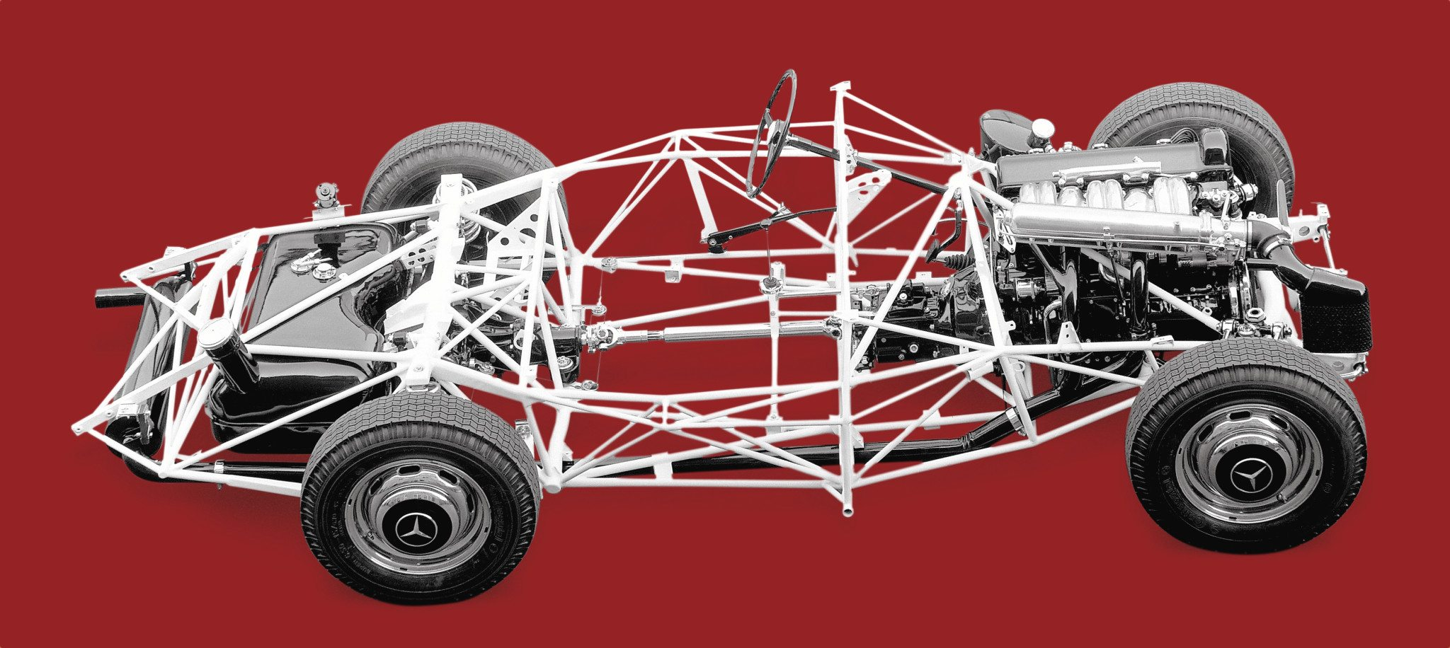 Mercedes-Benz 300SL Tubular Spaceframe Chassis