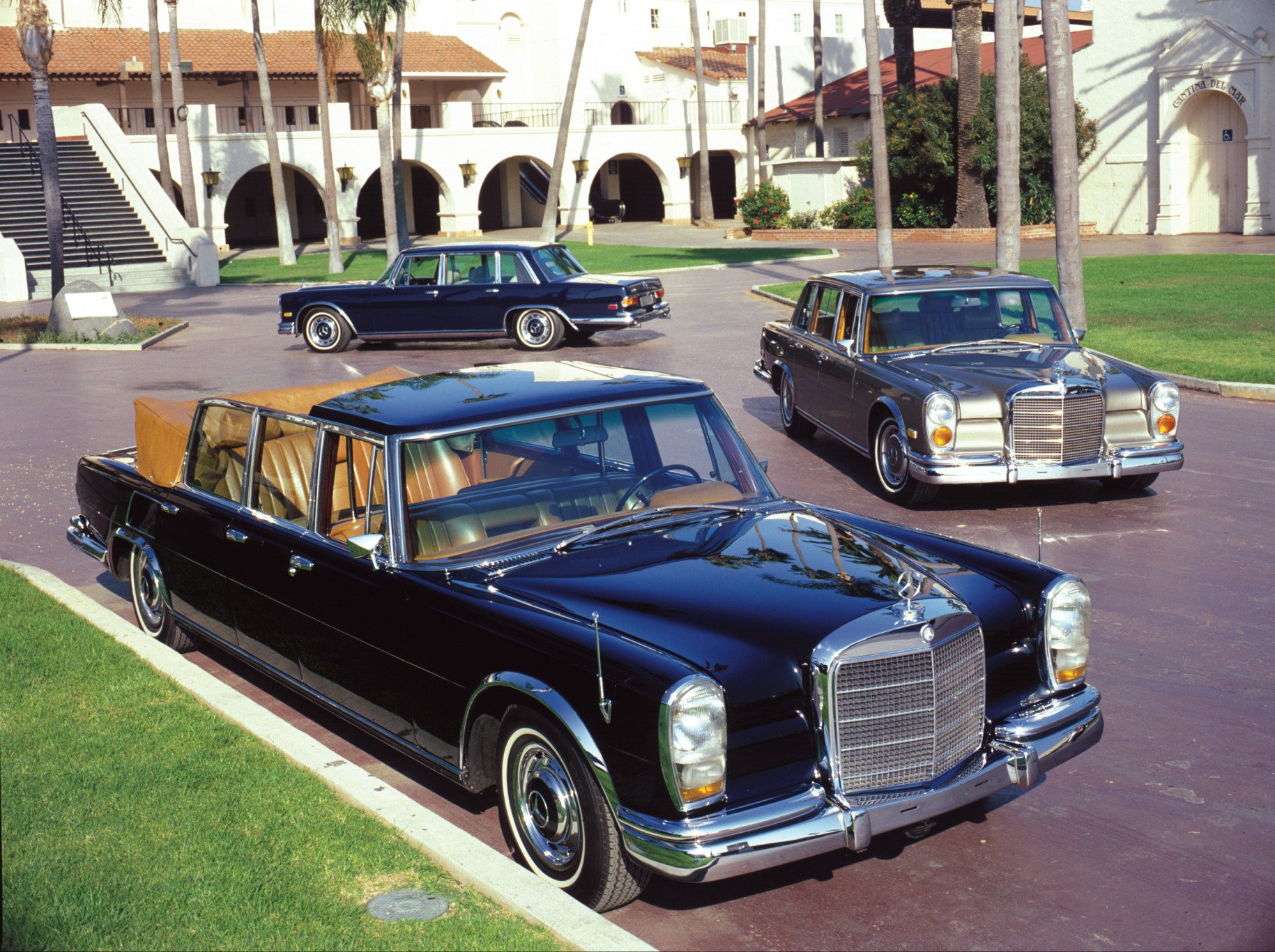 Models of the Mercedes-Benz 600 Series