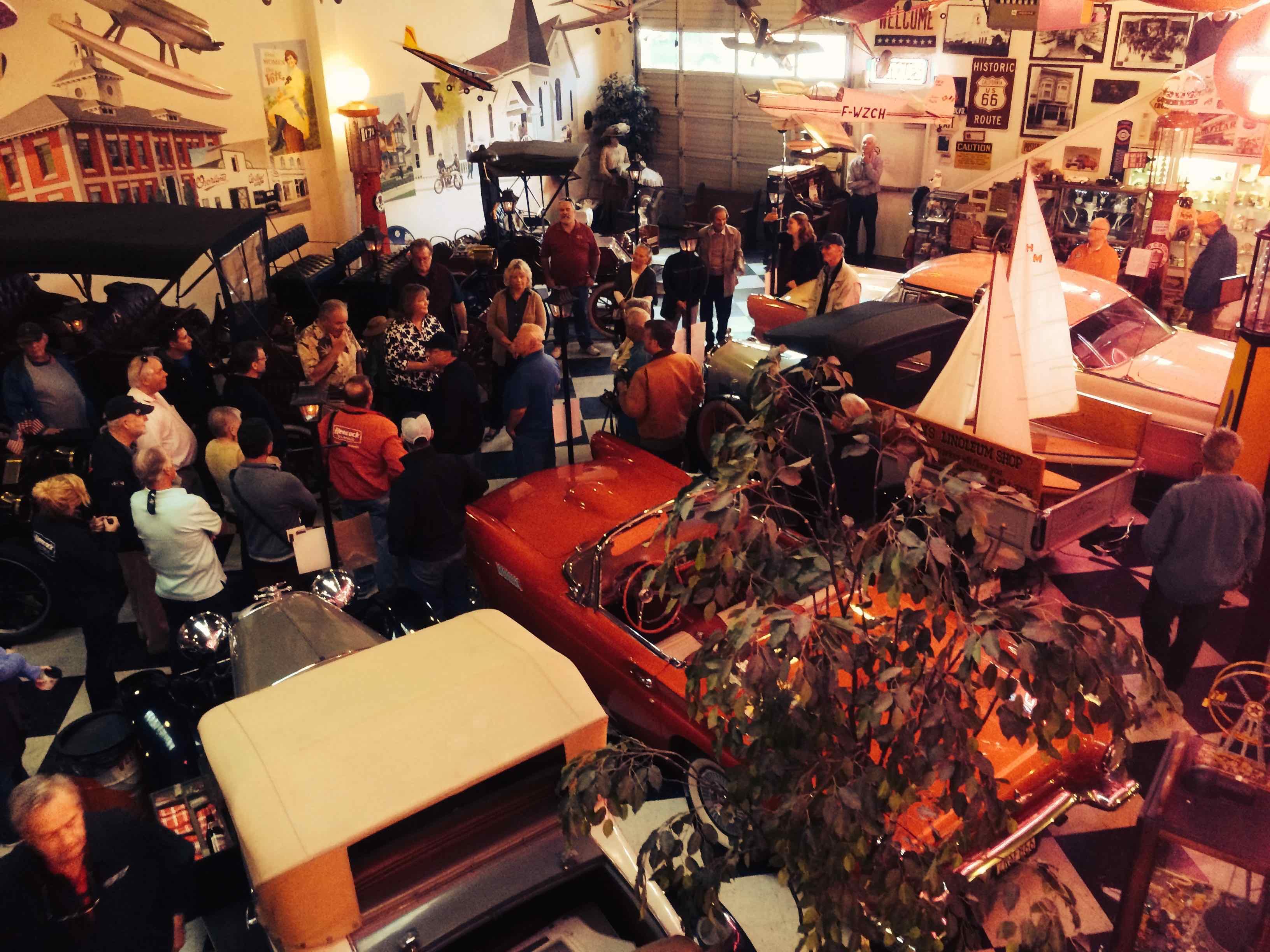 Monterey 2016 DAY 1 - The Garage Style Magazine Garage Tour