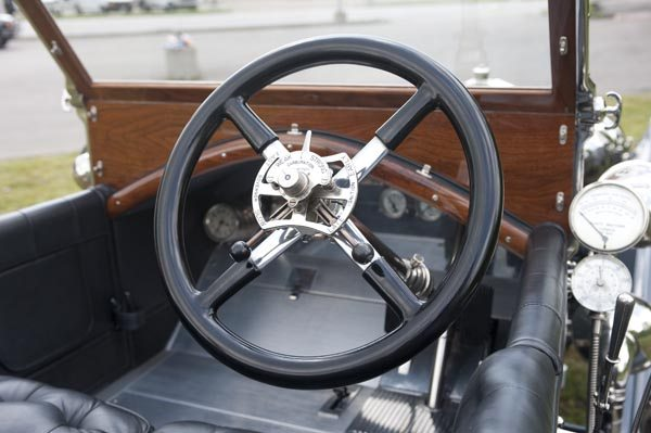 1912 Rolls Royce Silver Ghost 40/50 HP Steering Wheel