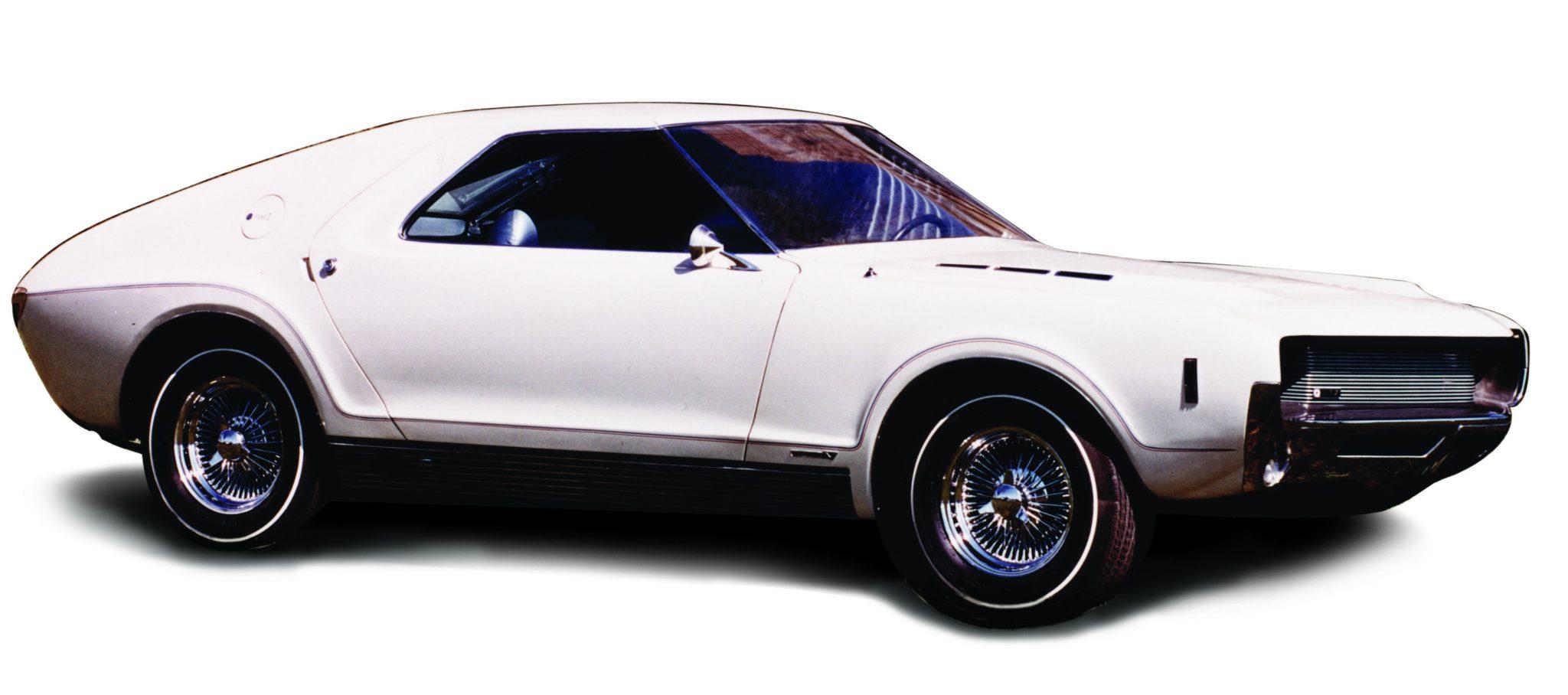 Pearl White Vignale AMX Show Car