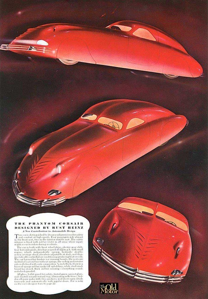 1938 Phantom Corsair Advertisement