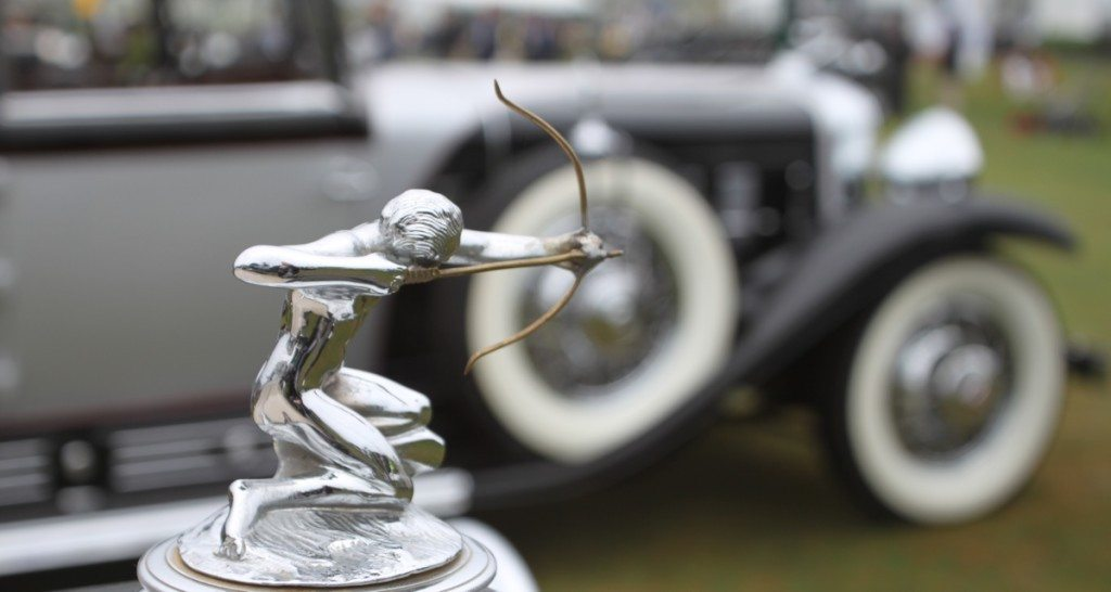 Pierce Arrow Archer Hood Ornament
