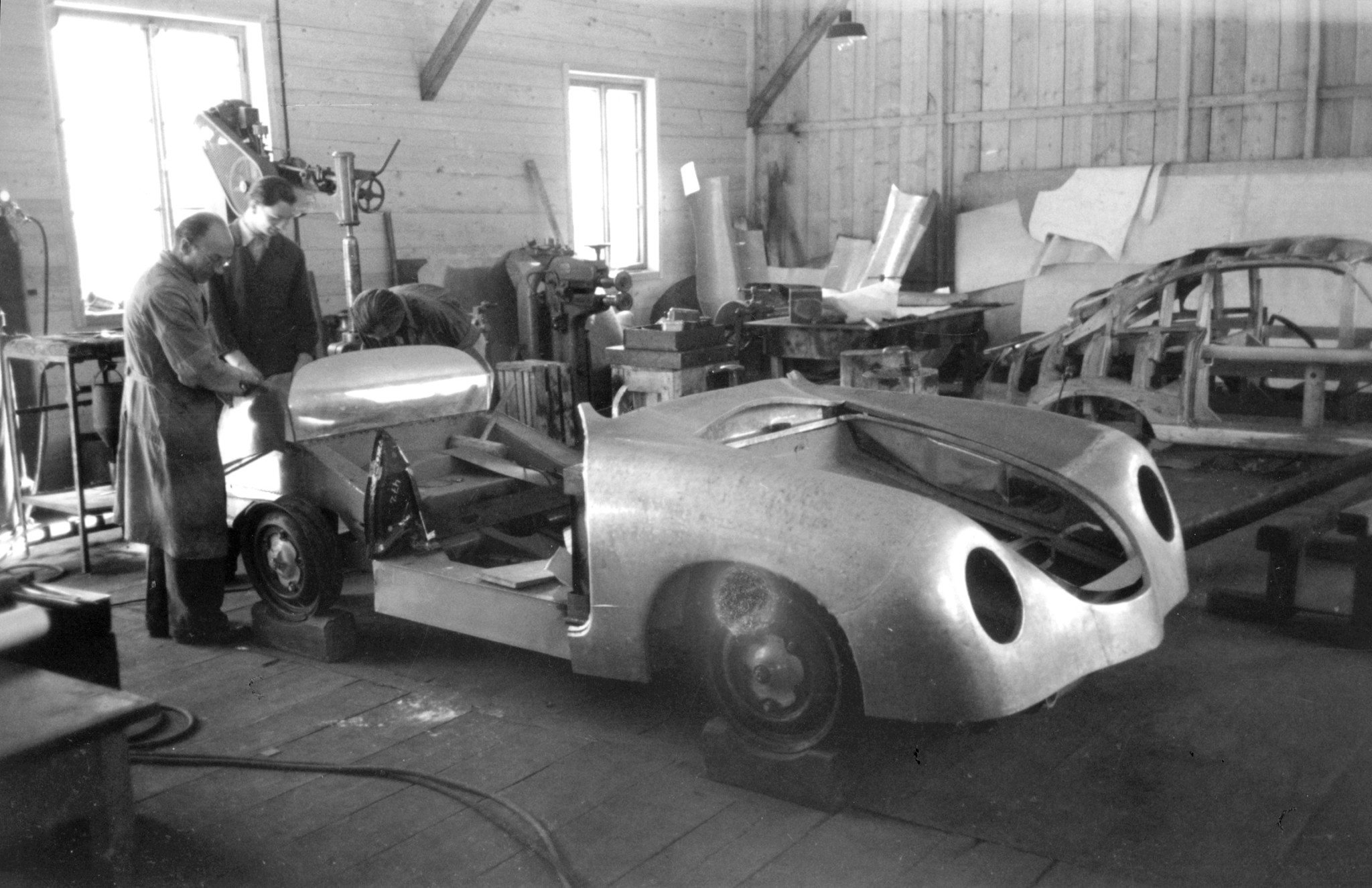 Porsche Production of type 356