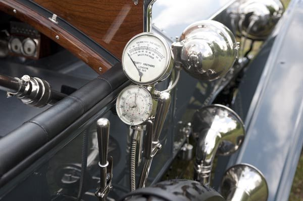 1912 Rolls Royce Silver Ghost 40/50 HP Exterior Gauges