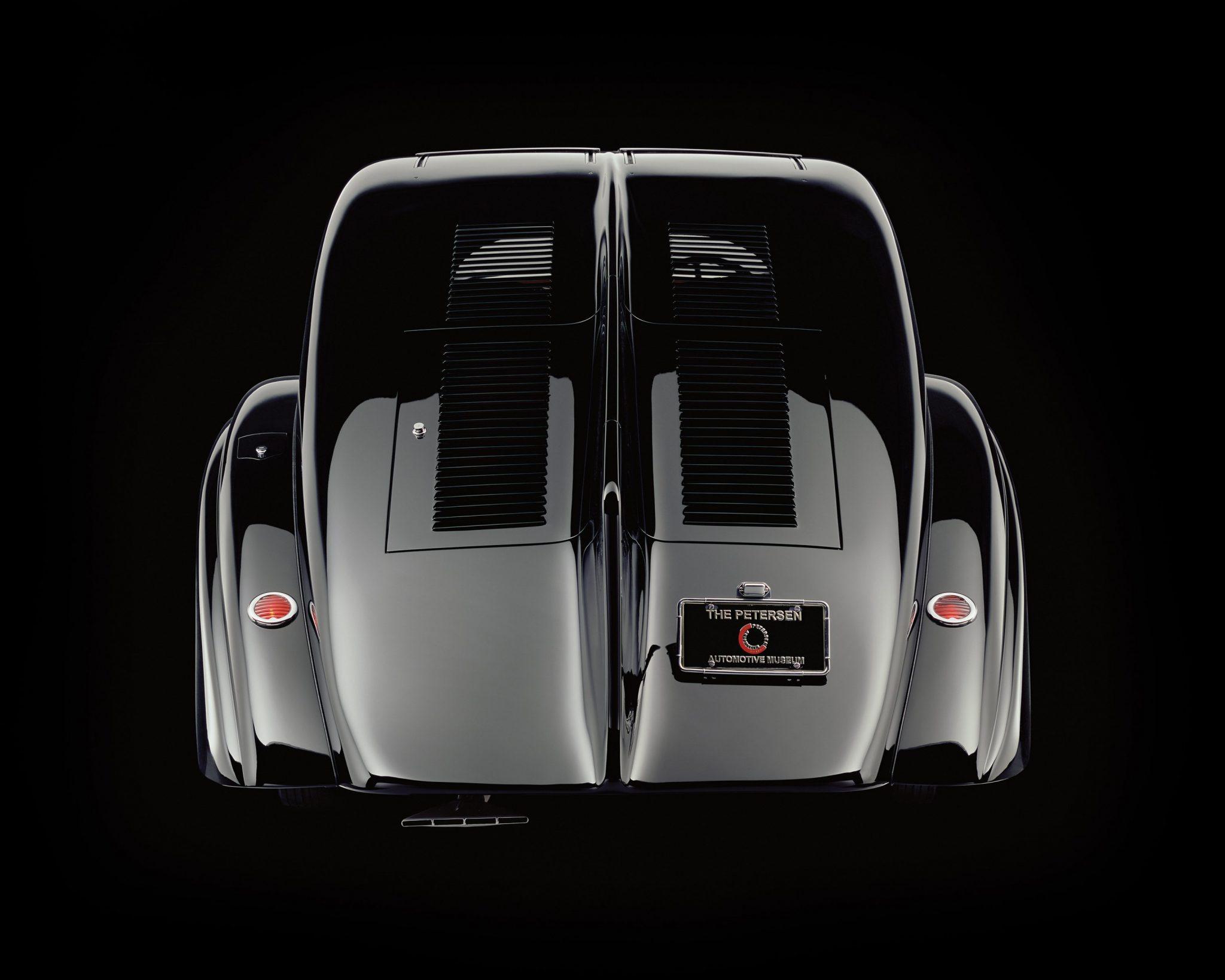 Rear Of Rolls-Royce Phantom 1 Jonckheere Coupe