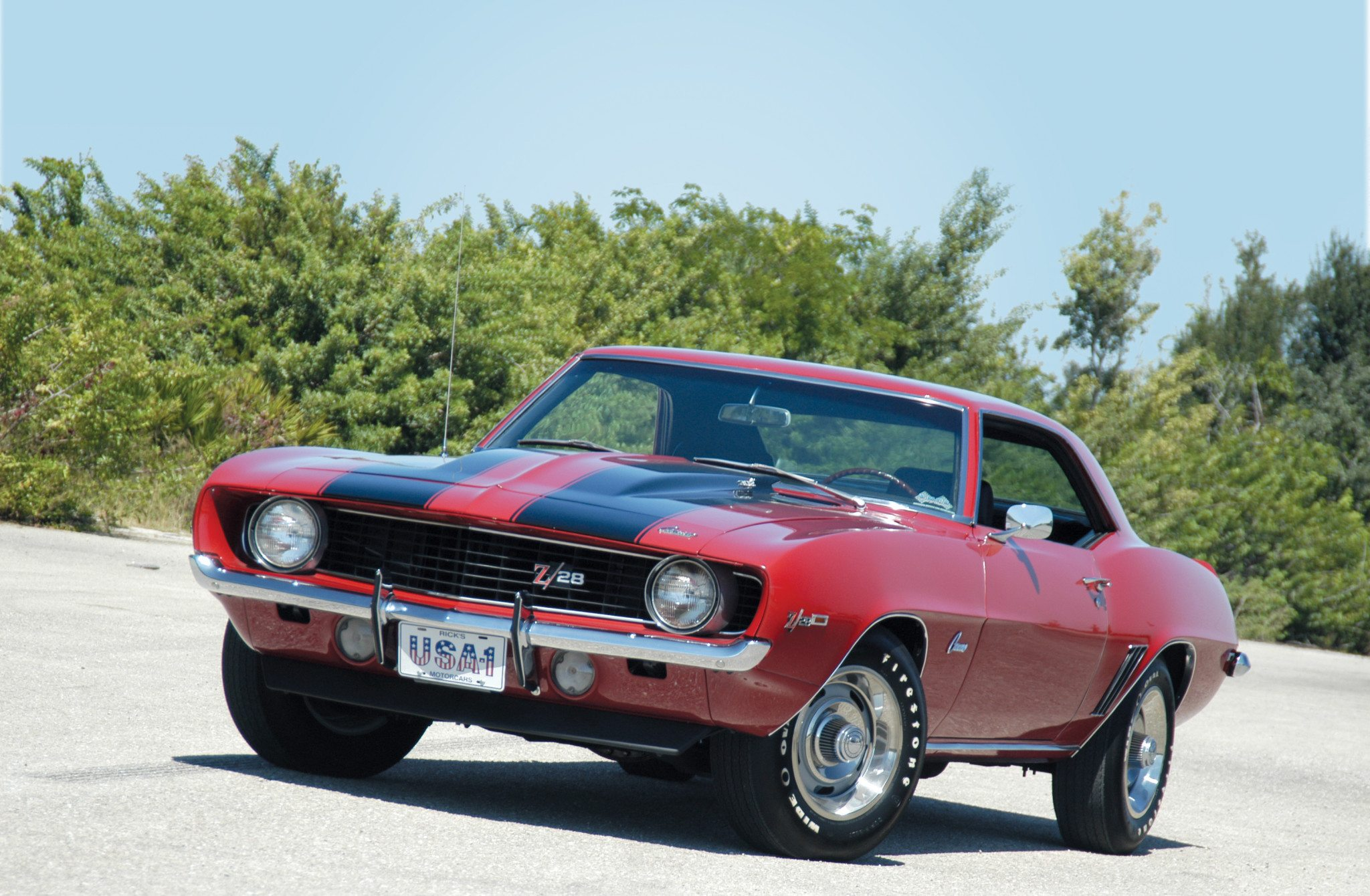 1969 Chevrolet Camaro Z 28 The Other Pony Car