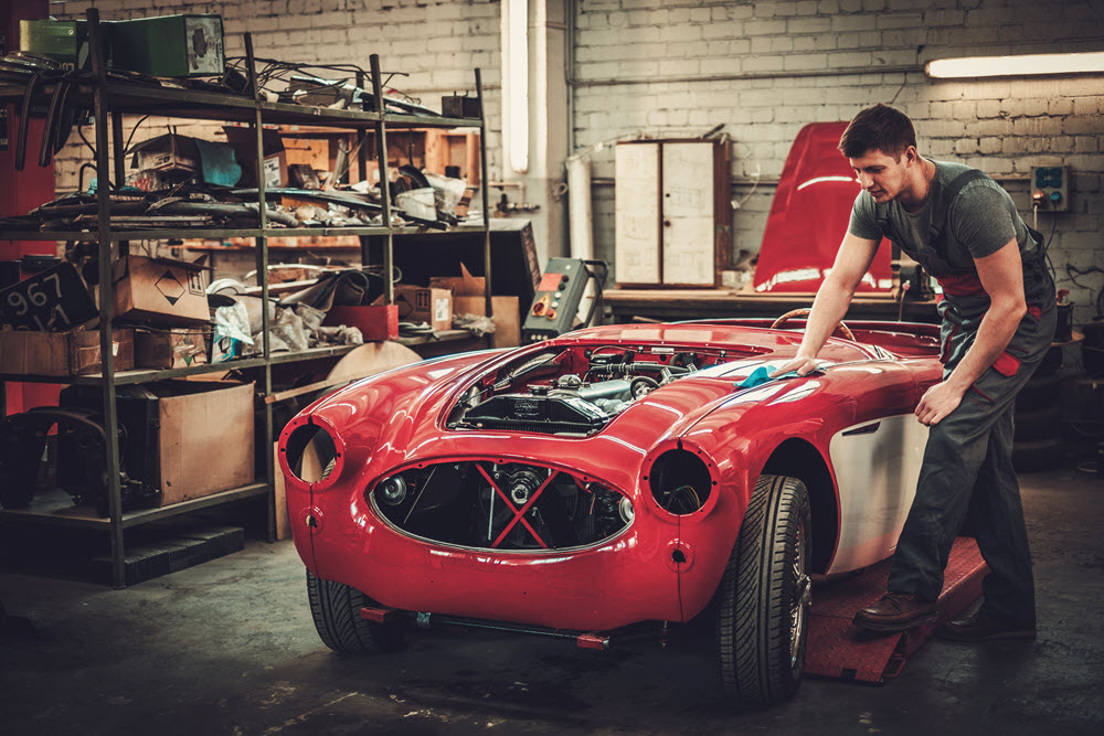 Replica Tribute Car Restoration