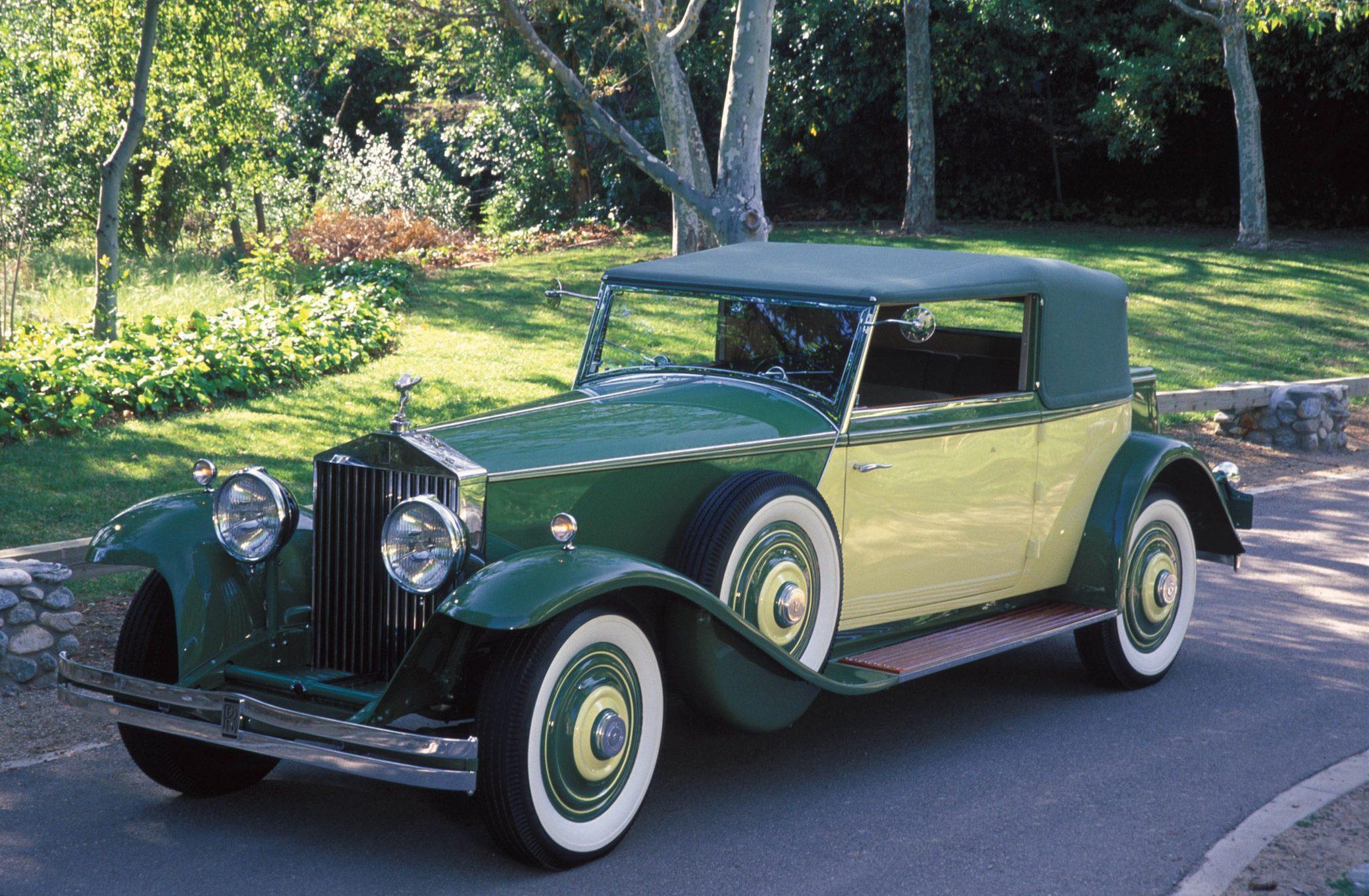 Rolls-Royce 1932 Phantom II Croydon Victoria Brewster & Co. New York