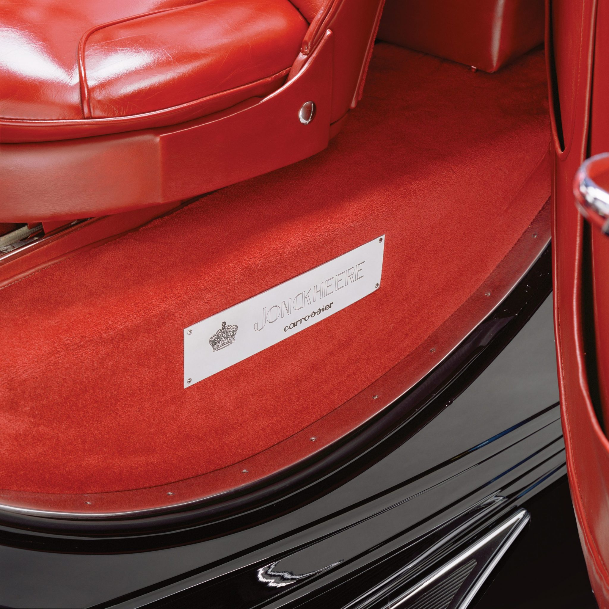 Rolls-Royce Jonckheere Coupe Doof Sill Plaque