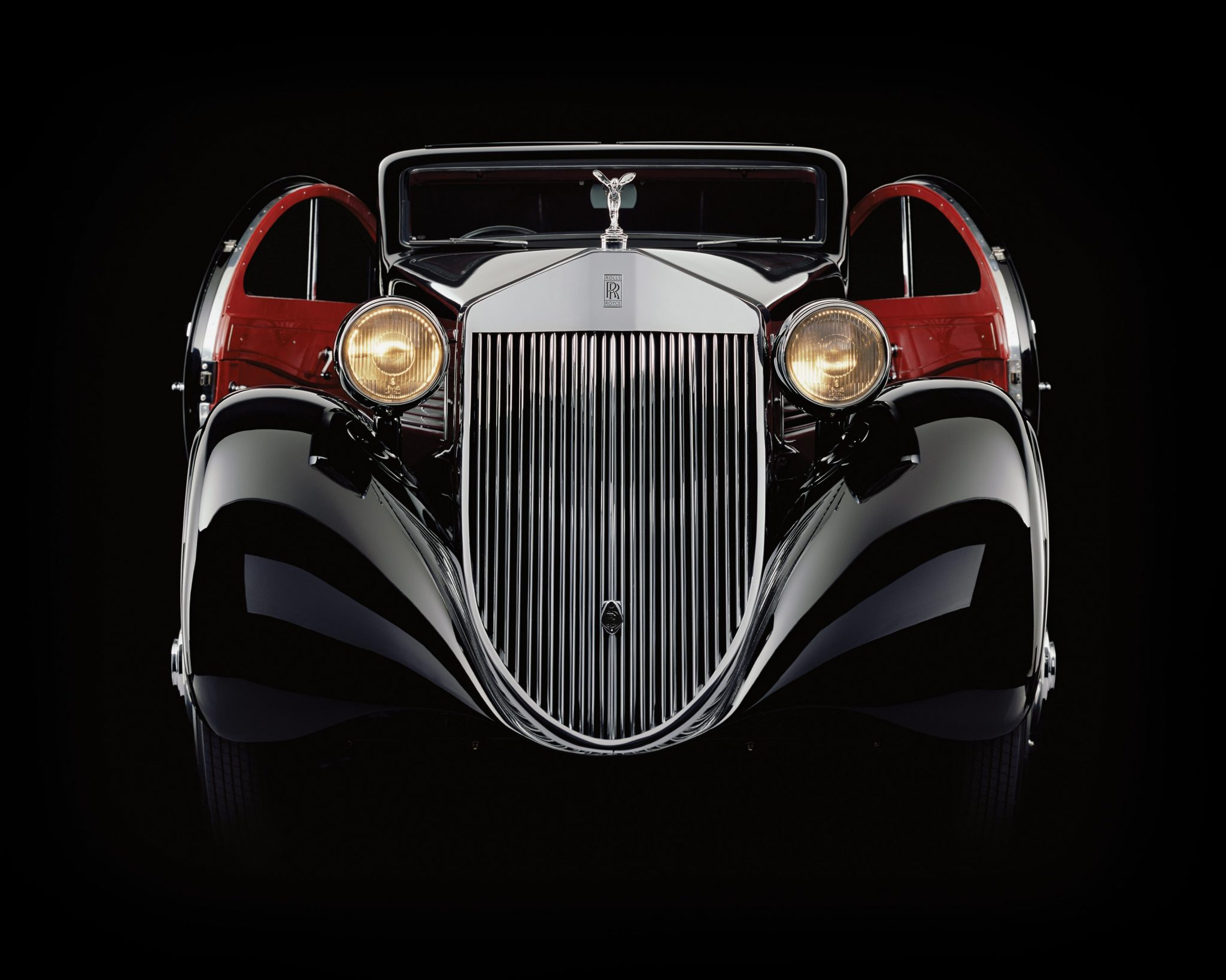 Rolls-Royce Phantom 1 Jonckheere Coupe Round Doors Open