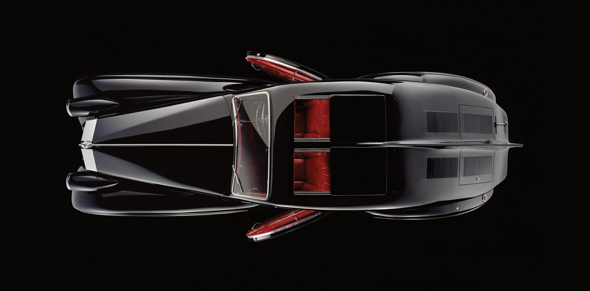 Rolls-Royce Phantom 1 Jonckheere Coupe Top Down View
