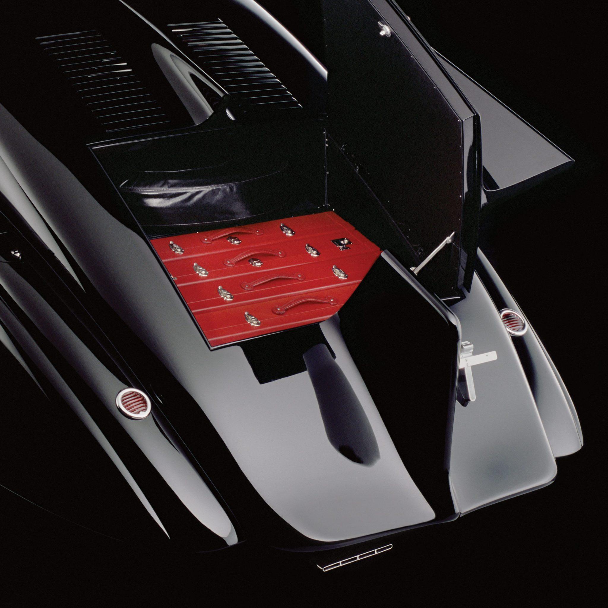 Rolls-Royce Phantom 1 Jonckheere Coupe Trunk And Bespoke Luggage