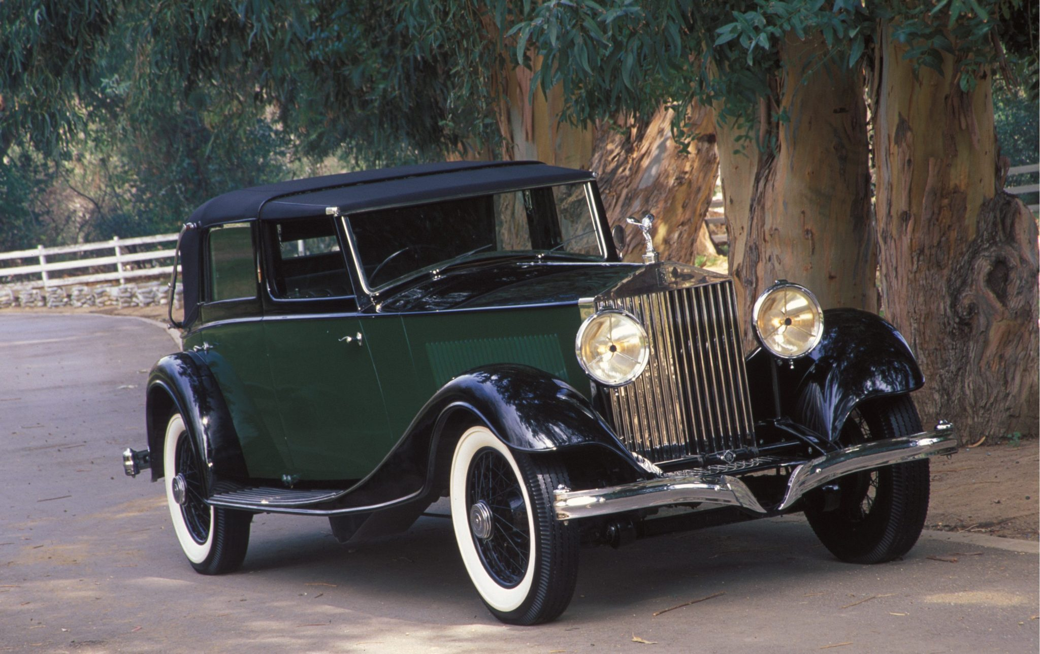 Rolls-Royce Phantom II French-bodied Salamanca Town Car by Kellner of Paris