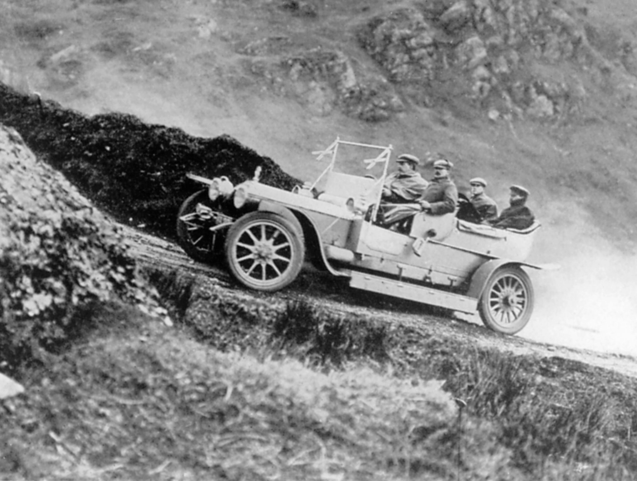 Rolls-Royce Silver Ghost in 1907