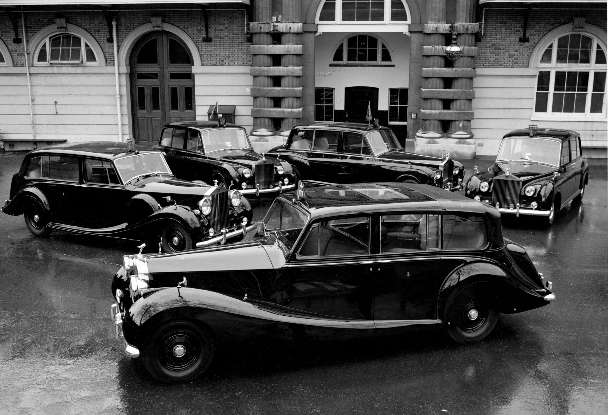 Rolls-Royce models in the Royal Family