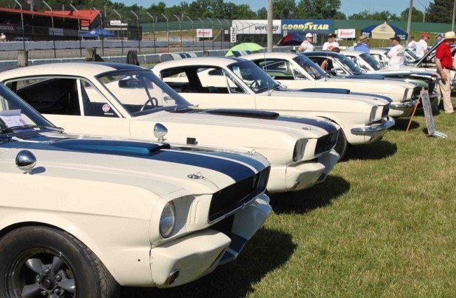 SAAC GT350 row Mid Ohio