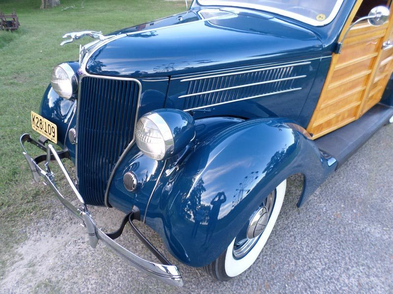1936 Ford Station Wagon front end