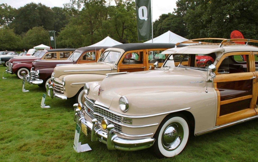 Classic Chryslers with wood doors