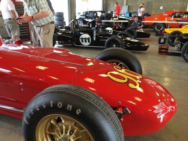 SVRA Car Show race 1