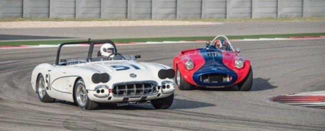 SVRA Car Show race 2