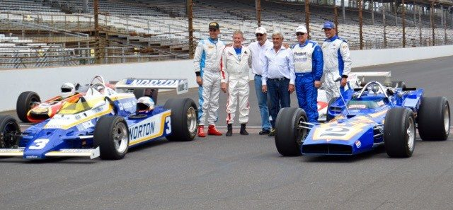 SVRA Indy 2015 Unsers and cars